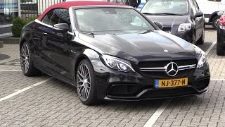 Mercedes AMG C63 Convertible 2017 New Test Drive, In Depth Review Interior Exterior 2018