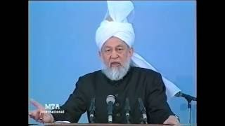 Friday Sermon 30 October 1998