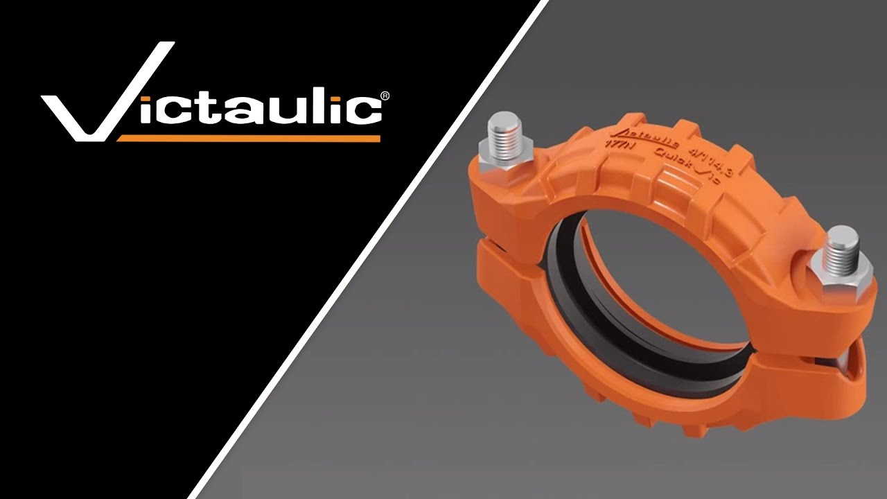 Victaulic Style 177N Installation-Ready™ Flexible Coupling Animation