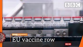 Covid-19: Vaccine minister 'confident' of supplies 🔴 @BBC News live - BBC