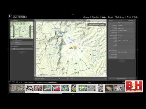 Mapping Your Photos in Adobe Lightroom 4