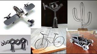 Reciclaje Ideas Metales Parte 2 / Tornillos / Cubiertos / Herraduras / Tuercas