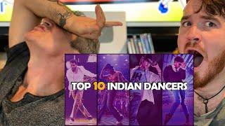 TOP 10 INDIAN DANCERS REACTION!!