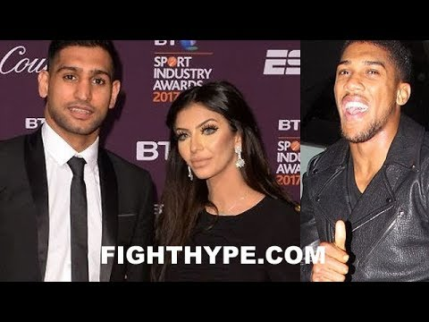 WOW! AMIR KHAN ACCUSES WIFE OF HOOKING UP WITH ANTHONY JOSHUA; ANNOUNCES DIVORCING