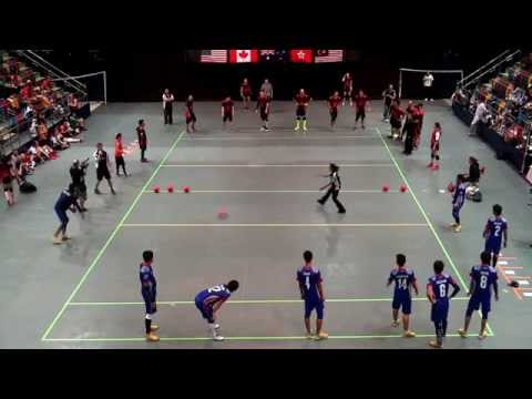 2014 WDBF Men Bronze HK vs Malaysia 1st Half