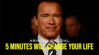 5 Minutes Will Chąnge Your Life | Arnold Schwarzenegger | Goal Quest