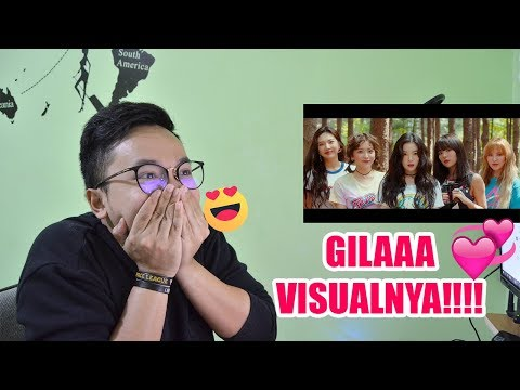 RED VELVET - COOKIE JAR MV REACTION ( SANGAT WOW VISUALNYA!! )