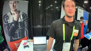 Xenoma e-skin fabric Smart Apparel Technology at the Consumer Electronics Show CES 2019