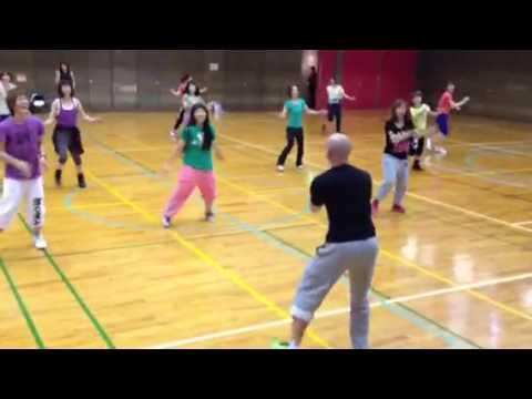 Aero Dance By Yoav Avidar - 7.3.13 JAFA Fitness Forum, Japan