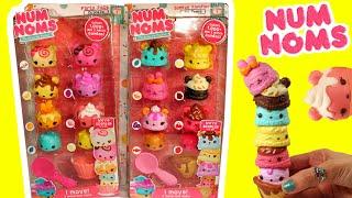 num noms moving 8 packs new num noms motorized 8 packs unboxing surprises sorpresas toys videos