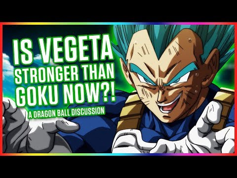 IS VEGETA STRONGER THAN GOKU? & MORE   Dragonball Discussion