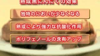 黒にんにくの効果と黒にんにくの成分。佐々木甚一教授インタビュー thumbnail