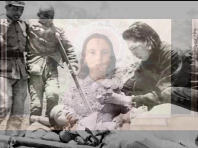 Изображение предпросмотра прочтения – ЕкатеринаИонова читает произведение «Девушка,прошедшая войну» Т.Е.Лавровой