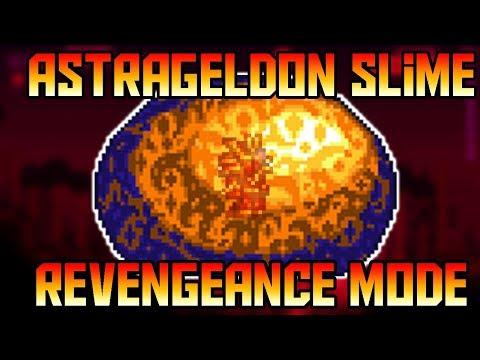 How to Beat Astralgeldon Slime in Revengeance Mode!   Boss Farm included  
