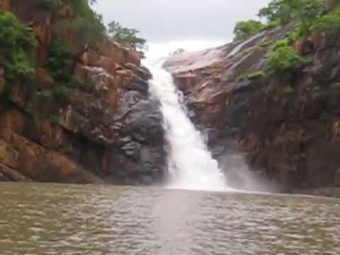 Waterfalls at Nemaligundla Ranganayaka Swamy Temple