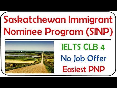 SINP 2020 | Saskatchewan Immigrant Nominee Program | Occupation In-Demand Stream
