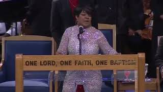 Shirley Caesar at Aretha Franklin's Funeral