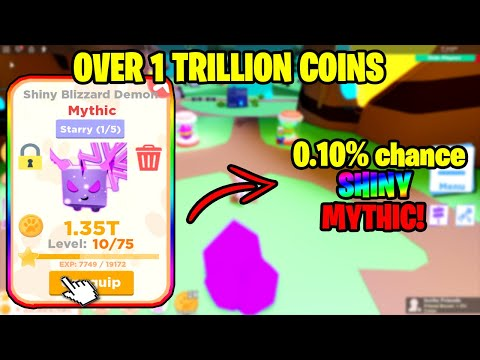 🐾PET RANCH SIMULATOR 2 NEW EGG THE PET IS *INSANELY OP* OVER *1 TRILLION COINS!!* I MADE IT SHINY!🐾
