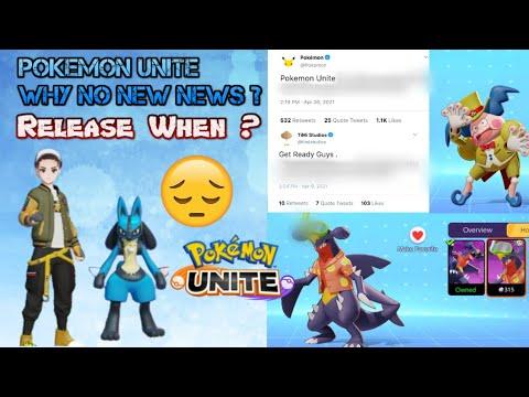 Why No New Pokemon Unite News Pokemon Unite Release News Youtube