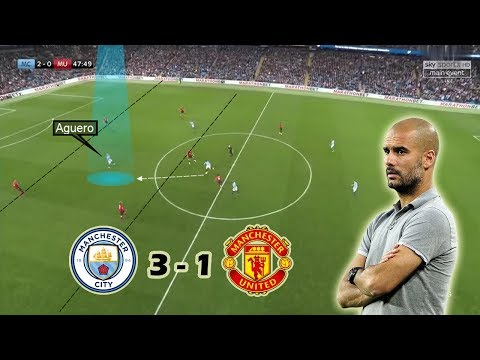 A Game of Attack vs Defense | Man City vs Man United 3-1 | Tactical Analysis | Guardiola vs Mourinho Mp3