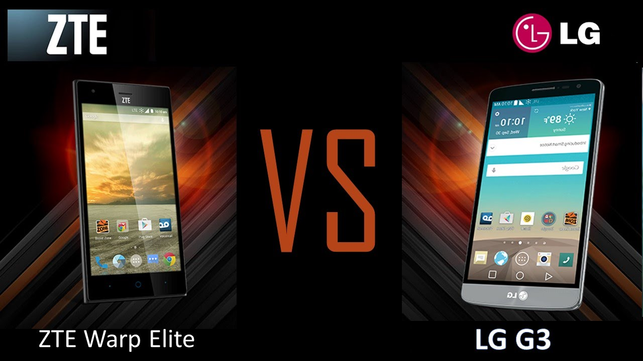 zte warp elite upgrade comes