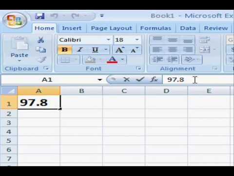 How to Insert the Degree Symbol in Microsoft Excel - YouTube - degrees in microsoft word