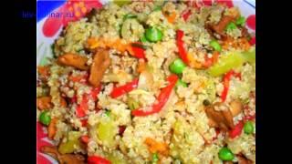 как приготовить вегетарианский плов с перцем