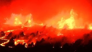 Wildfire destroys Oklahoma homes, began as controlled burn