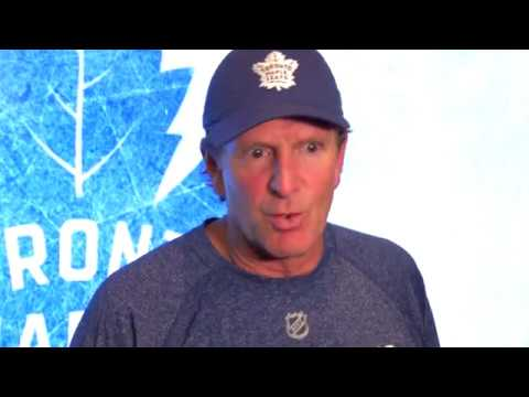 Maple Leafs Practice: Mike Babcock - September 21, 2017
