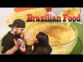 Reaction!! American Tries Brazilian Food Curau