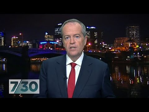 Opposition leader Bill Shorten discusses Labor's election promises | 7.30