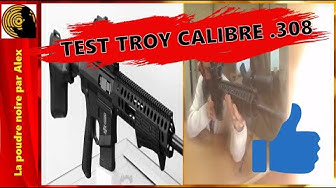 Test Troy calibre .308 (7.62x51 Otan)