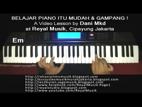 Belajar Piano Cara Mudah Gampang Banget Untuk Pemula Easy Piano Tutorial Youtube