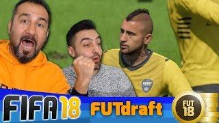 EFSANESİZ EFSANE MAÇ!   FIFA 18 FUT DRAFT