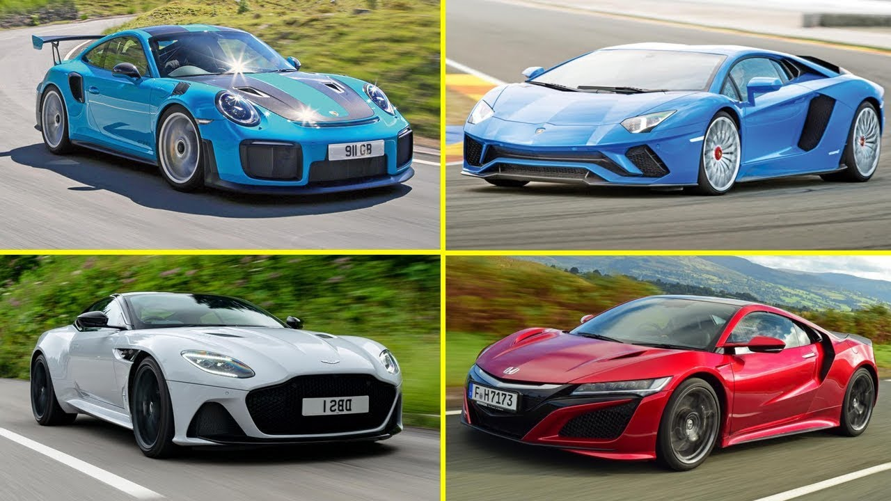 Top 10 Best Supercars 2018 2019 Car Brands Youtube