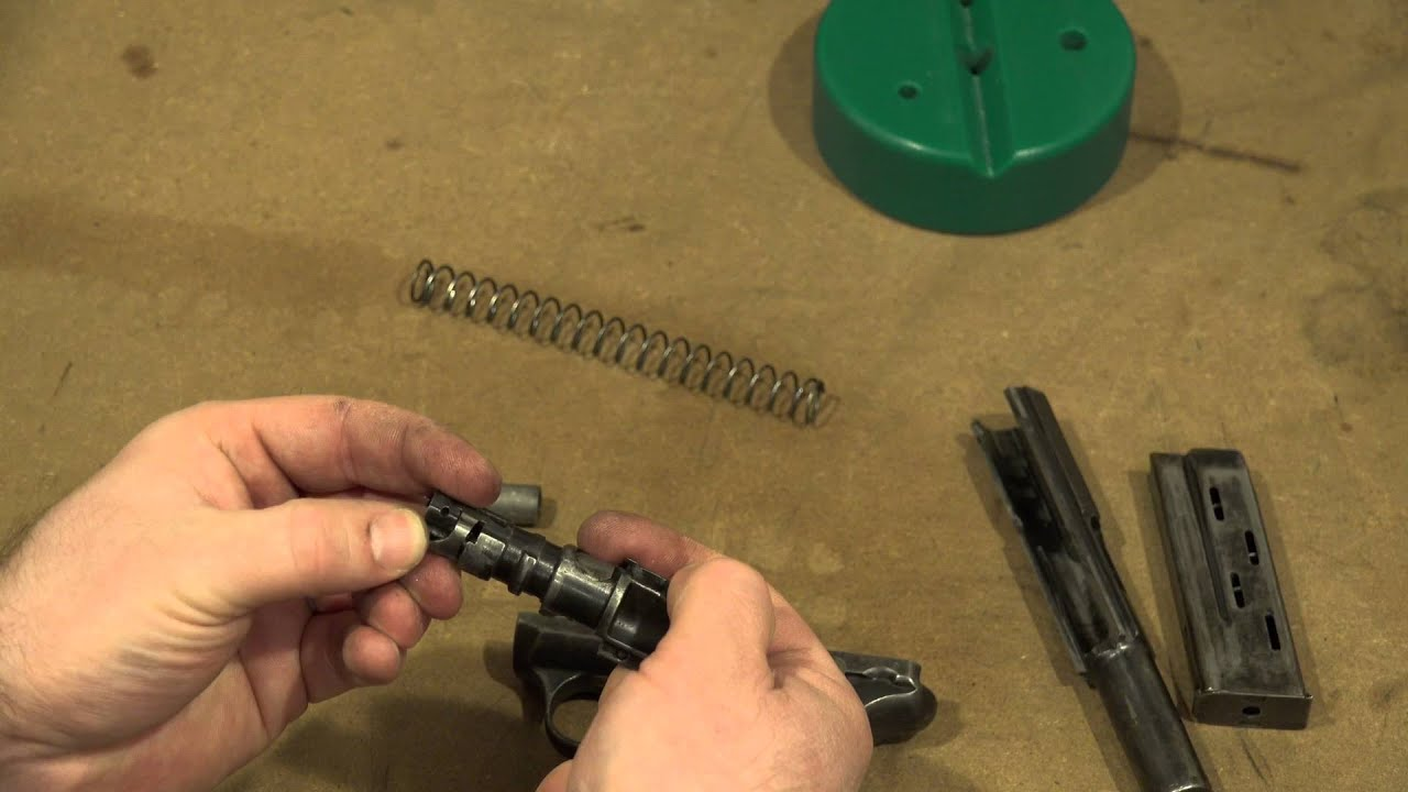 Savage 1907 Disassembly