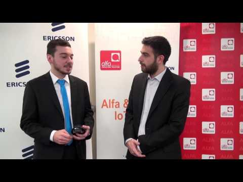 "Alfa and Ericsson IoT Award"" Presentation Day ""Selection phase I"""
