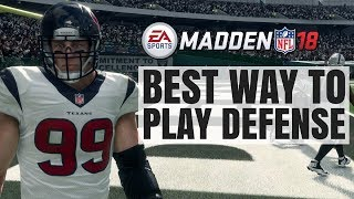Video Best Way To Play Defense In Madden 18 - Never Lose Again download MP3, 3GP, MP4, WEBM, AVI, FLV Januari 2018
