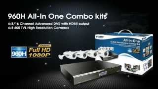 KGUARD Security 960H All-In-One Combo Kits