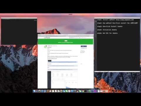 Install Joomla and make SSL website in Linux - 2019 (Simple & Easy) thumbnail