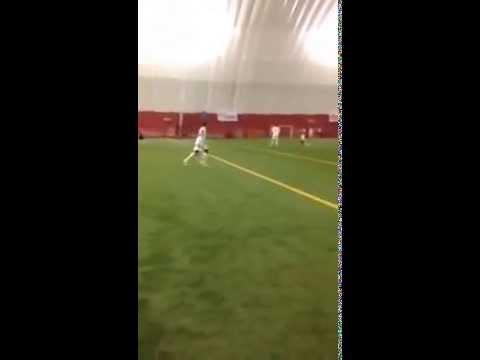 Arsenije Japalak Free-kick goal (Hamilton Serbians A vs. Globe FC) Pre-season 2015