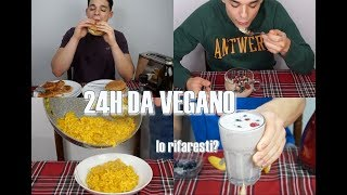 WHAT I EAT IN A DAY #2 | 24 ORE DA VEGANO | Riccardo Benedetti