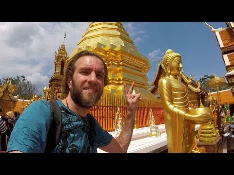 What to See in CHIANG MAI, Thailand: the Wat Doi Suthep Temple