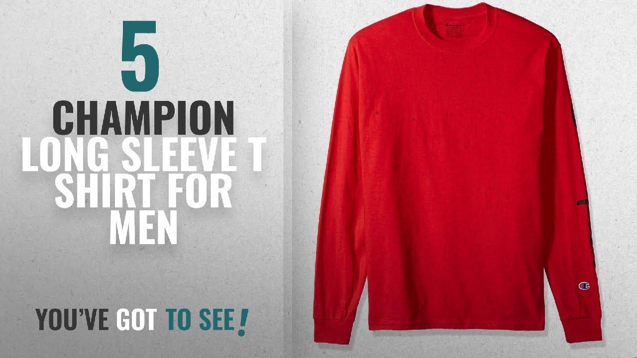 224a998c Top 10 Champion Long Sleeve T Shirt [2018 ]: Champion Men's Classic ...