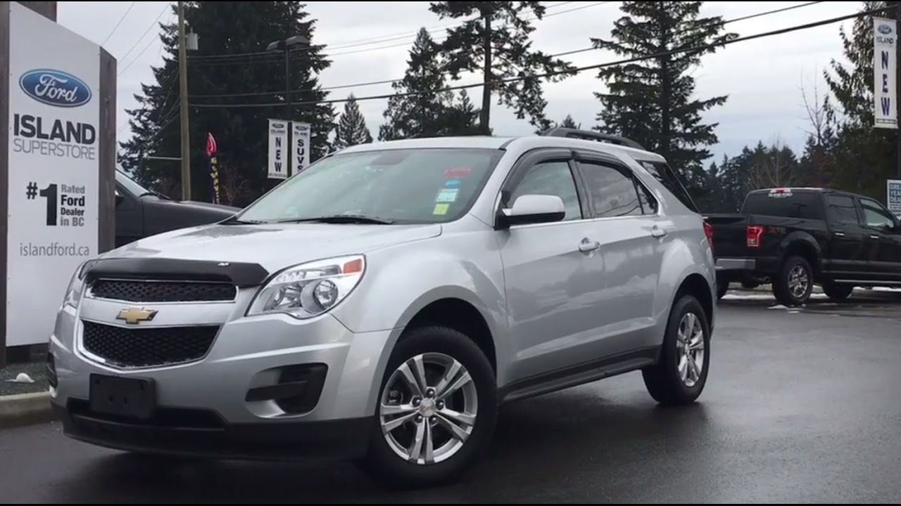 2014 Chevrolet Equinox LT AWD + Eco Mode Review | Island Ford ...
