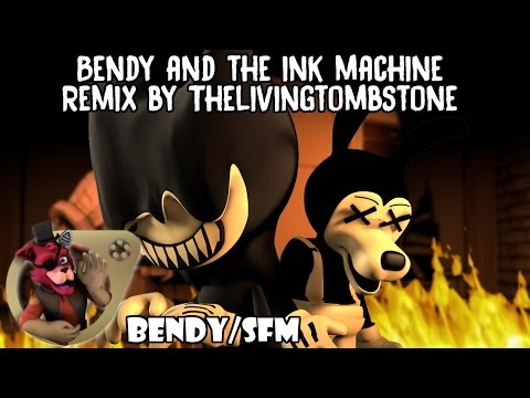 Bendy and the Ink Machine Remix Animation - Remix by TheLivingTombstone [Bendy][SFM]
