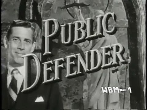 """Public Defender """"The Man Who Couldn't Remember"""" (classic law drama)"""