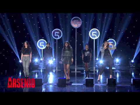 Fifth Harmony - Miss Movin' On (Live @ Arsenio Hall Show 22/10/2013)