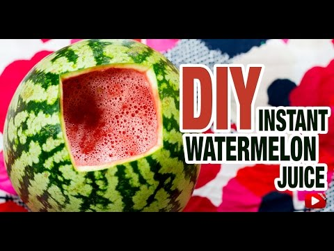 DIY Watermelon Juice: DIYIndian | How to Make Watermelon Juice in 1 minute