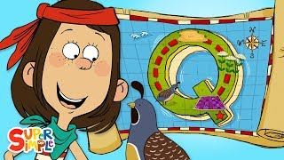 """A Quirky Quest on """"Q"""" Island 